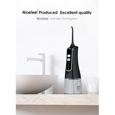Oral Irrigator Water Flosser Pick Portable Dental Water Jet USB Rechargeable