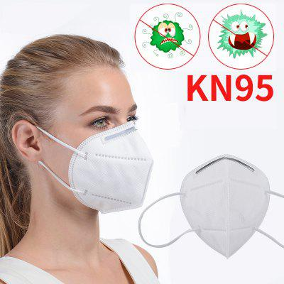 10PCS KN95 N95 Respirator Face Mask Disposable Breathable Protective Not Medical Masks for Health.