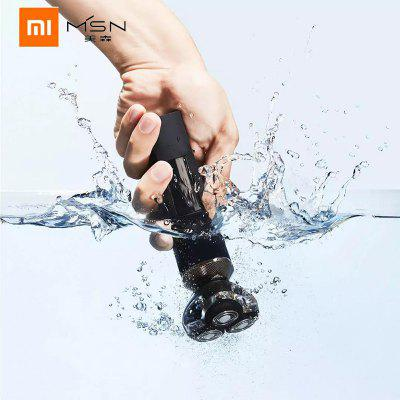 MSN Electric Shaver Waterproof  Dry Wet Shave Razor Self-washing from Xiaomi youpin