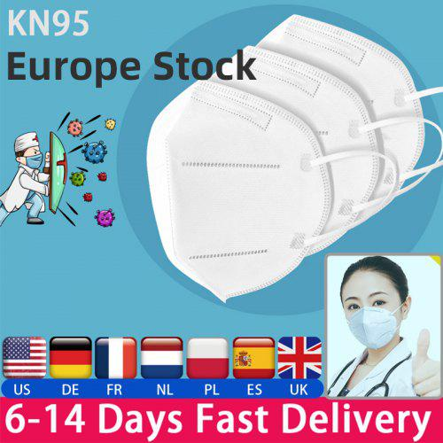 KN95 N95 Dustproof Anti-fog And Breathable Face Masks Filtration Features as KF94 FFP2
