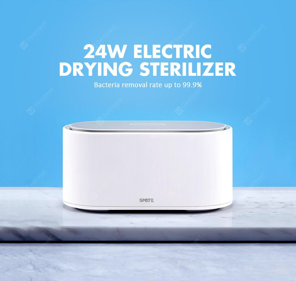 SMATE SX-01 Electric Sterilizer Box UV Light Drying Sterilizer 3 Modes From xiaomi youpin - White China