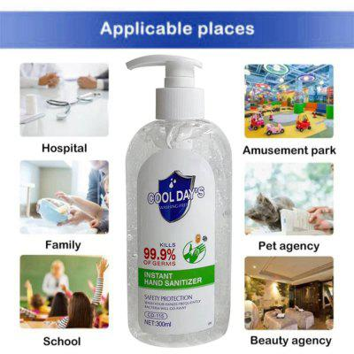 Hand Cleaner Sanitizer Cool DayS Disposable Rinse Free Wash Hands Protective Dry Cleaning