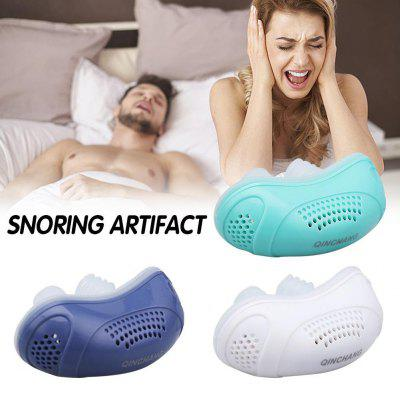 Electric Anti Snoring appliance Aid Mini Stopper Nose Breathing Relieve Snoring For Better Sleep