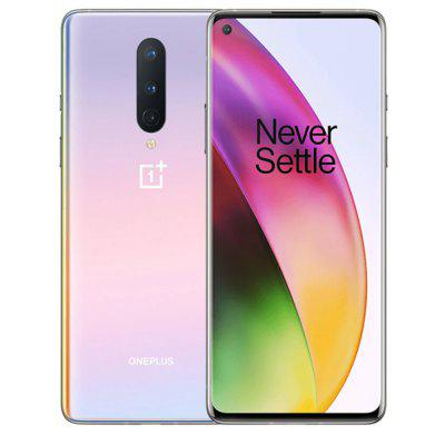 Oneplus 8 5G Smartphone 6 .55 inch Snapdragon 865 OxygenOS 48MP+2MP+ 16MP Camera 4300mAh Battery Image