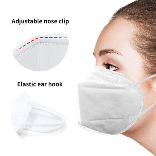DHL TNT KN95 Mask Disposable Breathable Protective Filtration Cotton Mouth Mask Dust-Factory Supply