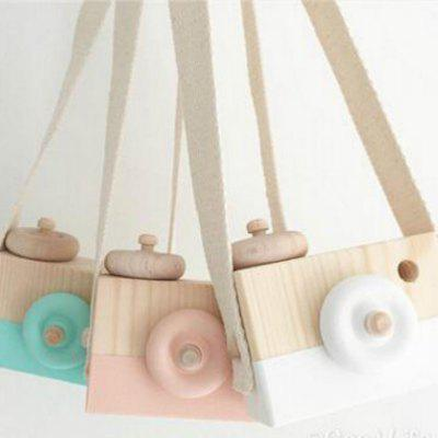 Wooden Kids Camera Toy Cute Handmade Kid Toys Children Creative Photo Decoration Colorful
