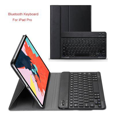 Wireless Keyboard for New iPad Pro 11 Case With Leather Stand Smart PU Full Protective Cover