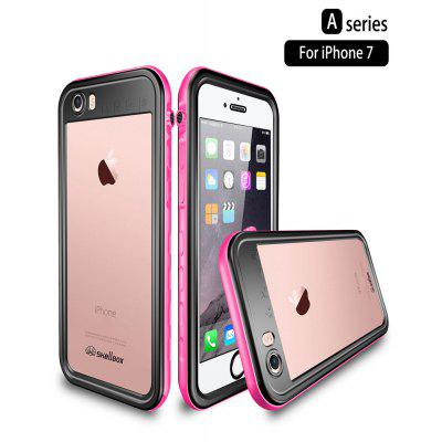 For iPhone SE 2020 11 Pro Max Waterproof Sealed Case 360 Degree Shockproof Diving Underwater Cover for iPhone 6 6s 7 8 Plus Case-PINK