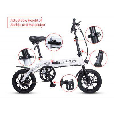 2020 Mountain Folding Road Bike Electric Folding Bike Wholesale Mountain Electric Scooter Portable Lithium Battery Long Continued Wholes Image