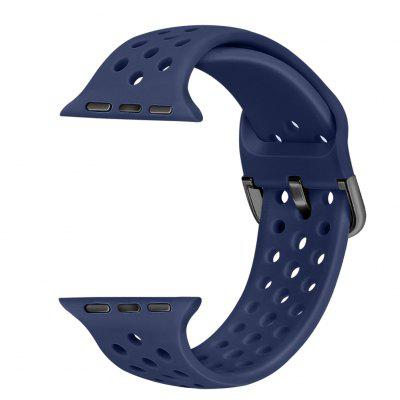 Silicone Strap Sports for Apple Watch Band 38mm 40mm 42mm 44mm Replacement for iWatch Series SE 6 5 4 3 2 1 top for apple watch band nike silicone replacement sport band for apple series 4 band for iwatch 4 bands 44mm 38mm series 3 2 1