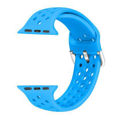 Silicone Strap Sports for Apple Watch Band 38mm 40mm 42mm 44mm Replacement iWatch Series SE 6 5 4 3 2 1