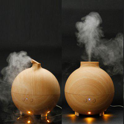 Essential Oil Aroma Diffuser Ultrasonic Humidifier Air Mist Aromatherapy Purifier Woodgrain Model 20006A AU