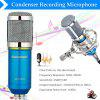Excelvan Cardioid Condenser Microphone For Studio Recording With Shock Mount Blue BM-800