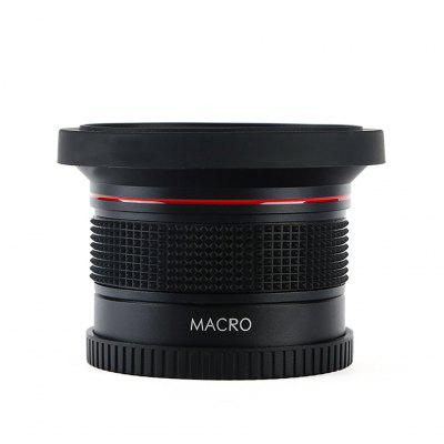 Fisheye Detachable Macro Conversion Lens