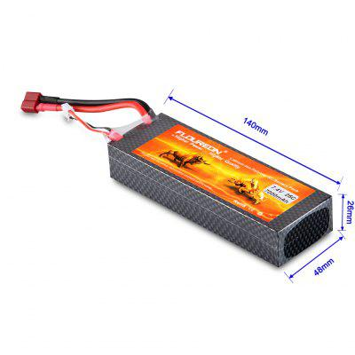 FLOUREON 2S 7.4V 7000mAh 25C Li-Polymer Battery Pack
