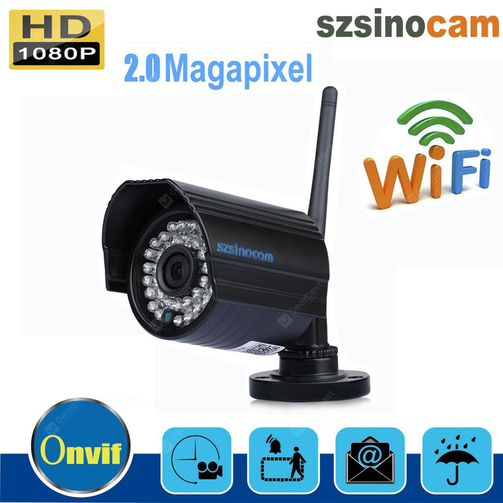 Szsinocam 1080P Waterproof H.264 Wireleess 2.0 Megapixel  WLAN Security  WiFi IP Camera EU
