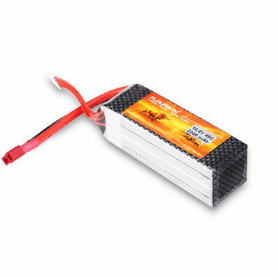FLOUREON 4S 14.8V 2200mAh 45C (T Plug)Li-Polymer Battery Pack