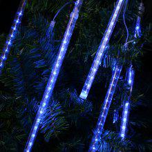 eu string light tube blue finether 131 ft 8 tube 144 led meteor shower