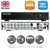 SECULINK 16 CH AHD 1080N  CCTV Security Camera Video Recorder Cloud DVR UK - BLACK