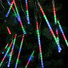 (EU STRING LIGHT TUBE MULTI) Finether 13.1 ft 8 Tube 144 LED Meteor Shower Rain Snowfall Plug-In String Lights for Holiday Christmas Halloween Party Indoor Outdoor Decoration Commercial Use, Multi-Col - COLORFUL
