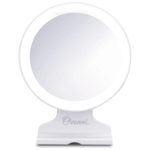 Ovonni Tabletop Vanity 5x Magnification Cosmetic Mirror Led Lighted