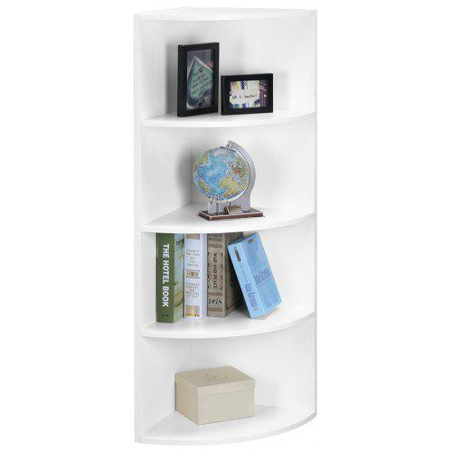 SHELF 5 TIER CORNER BOOKCASE LANGRIA Tier Modular Corner Shelf Bookcase