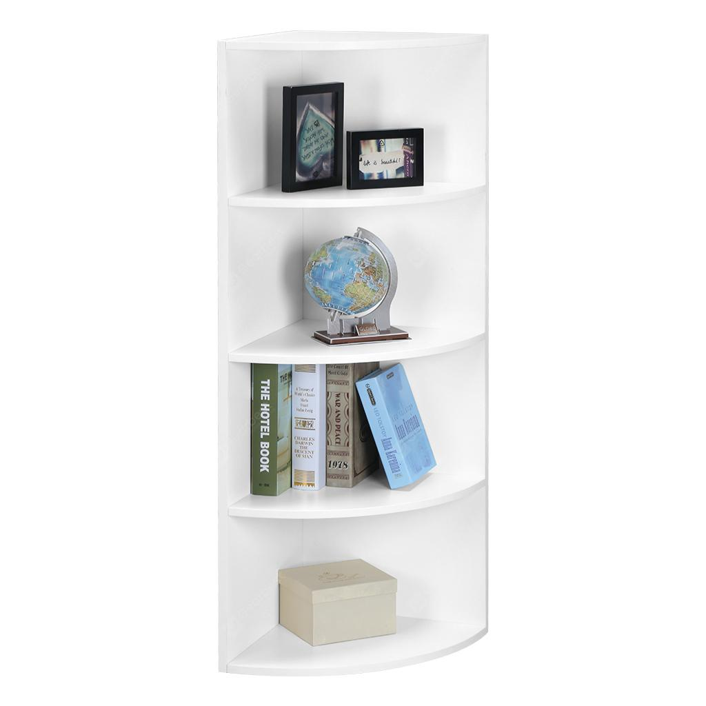 Shelf 5 Tier Corner Bookcase Langria 5 Tier Modular Corner Shelf Bookcase Shelves Unit Cabinet Display Stand For Storage And Organization In Living