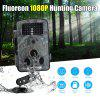 Floureon 1080P HD 12MP Hunting Scouting Trail Waterproof Wildlife Record Video Camera Kamera Game Security PIR LED Night - ACU CAMOUFLAGE