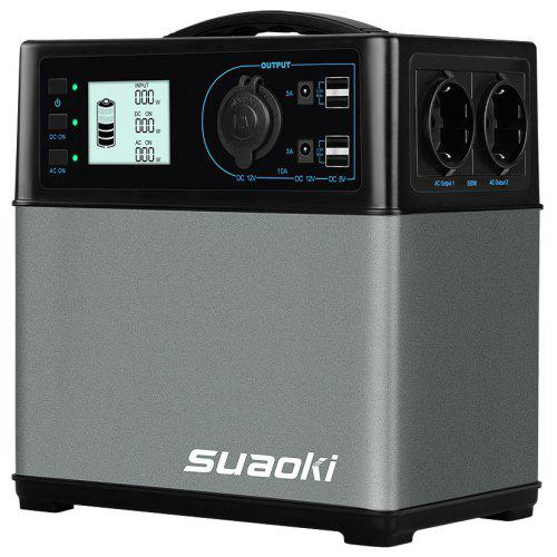 Suaoki 400wh Solar Portable Power Supply EU