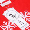 2016 Autumn winter new style fashion letter printing slash woman casual sweater - RED