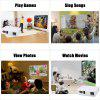 Excelvan 96 + Native 1280 x 800 1080p LED Projector - WHITE