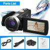 Incosky 1080P FULL HD Portable Digital Video Camera 2.7 TFT LCD 24MP 16x Zoom Camcorder DV  AV Output Night Light Black AU - BLACK