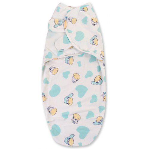 SwaddleMe Original Swaddle Bag Elephant Splash Small