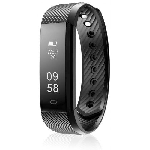 Diggro Id115 Smart Bracelet Bluetooth 4 0 Pedometer Calorie Sleep Monitor Call Sms Reminder Sedentary Without Heart Rate For Android Ios Gearbest