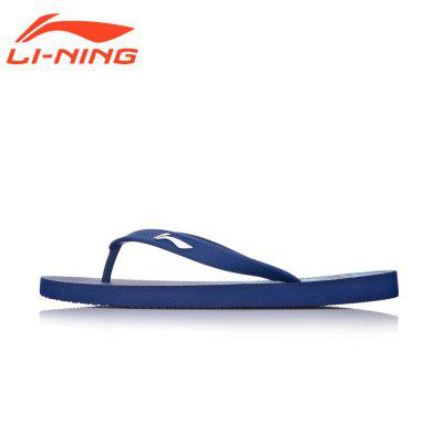 Li-Ning Men\'s Summer Beach Sandals Light Weight Flip Flop Leisure Shoes