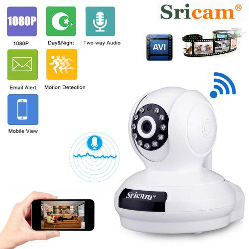 Sricam SP019 1080P Wireless WiFi IP Camera HD 2MP Home Security Baby Monitor