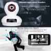 Sricam 1080P Wireless HD 2.0MP WLAN H.264 Security CCTV Pan/Tile WiFi Baby Monitor IP Camera White EU - WHITE