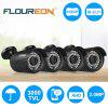 FLOUREON 1080P 2.0MP 3000TVL NTSC Waterproof Outdoor CCTV DVR Security Camera Night Vision - BLACK
