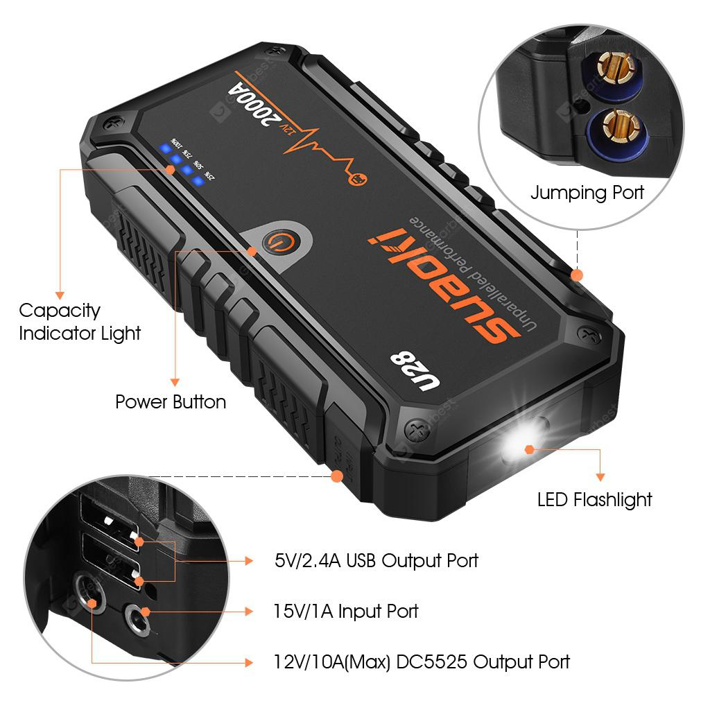 Suaoki U28 Jump Starter Uk Plug 9423 Free Shipping Gearbest Wiring To Australian Copyright 2014 2019 All Rights Reserved