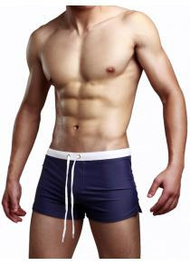 AUSTINBEM Men Zipper Nylon Swimming Boxers