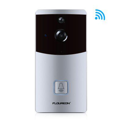 FLOUREON WIFI Smart 720P Video Doorbell  Night Vision PIR Motion Detection