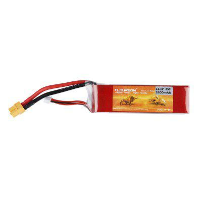 FLOUREON 3S 11.1V 2800mAh 35C Li-Polymer Battery Pack with XT60 Plug