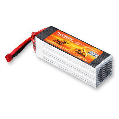 Floureon 6S 22.2V 5000mAh 45C with Deans Plug LiPo Battery Pack for RC Car RC Truck RC Drone
