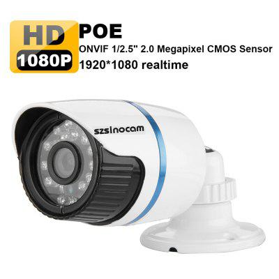 Szsinocam H.264 HD 1080P 2.0 Megapixel Security CCTV P2P Waterproof POE IP Camera Recorder EU