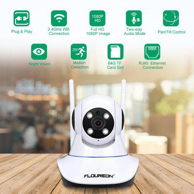 FLOUREON 1080P 2.0MPIndoor Baby Monitor IP Camera EU