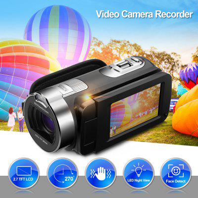 PRIKIM 1080P FULL HD Portable Digital Video Camera 2.7 TFT LCD 24MP