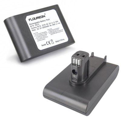 FLOUREON 22.2V 2000mAh High Capacity DC31 Battery Pack for Dyson DC31 DC34 DC35