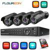 FLOUREON 8CH 1080P Security Cameras DVR Kit with 1TB HDD