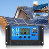 FLOUREON Solar Charge Controller 10A Solar Panel Battery Intelligent Regulator