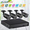 FLOUREON   5 IN 1 Video  Security  Syste  8CH DVR And 4 IR Night Vision Camera  UK